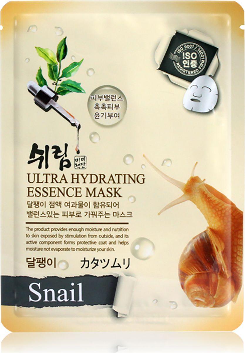 Shelim, Увлажняющая тканевая маска с улиточным муцином, 25 млSH827075Тканевая маска пропитана концентрированной эссенцией, отличающейся высоким содержанием активных ингредиентов и обогащенной экстрактом улиточного муцина. В южнокорейских средствах по уходу за кожей, улиточный муцин (фильтрат улиточного секрета) занимает одно из первых мест. Улиточный муцин содержит аллантоин, ферменты гликопротеинов, медные и антимикробные пептиды, витамины А, С и Е, а также коллаген и эластин. Улиточный секрет является полностью натуральным компонентом, поскольку такой уникальный состав нельзя синтезировать в лабораторных условиях, поэтому средства с муцином не вызывают раздражения и подходят для любого возраста и любого типа кожи.