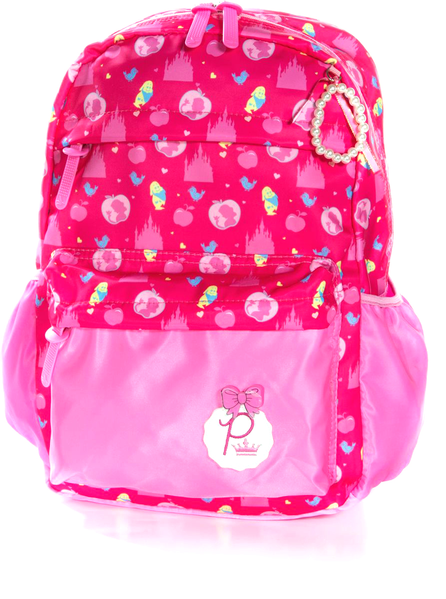 Vittorio Richi Рюкзак для девочки цвет розовый, малиновый K07R960714K07R960714Рюкзак Vittorio Richi из водоотталкивающей износостойкой ткани. Укрепленная спинка, эластичные широкие лямки. У рюкзака два основных отделения на молниях, дополнительный карман для мелочей внутри, два открытых кармашка по бокам, внешний объёмный карман на молнии.