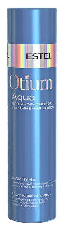 Estel Otium Aqua Mild - Шампунь для волос увлажняющий 250 мл (безсульфатный)ОТ.122Estel Otium Aqua Mild - шампунь для волос увлажняющий бережно очищает волосы, подходит для ежедневного применения. Поддерживает естественный гидро - липидный баланс кожи головы, укрепляет структуру волос.Мощный увлажняющий комплекс True Aqua Balance с натуральным бетаином и аминокислотами улучшает состояние сухих, повреждённых волос, способствует удержанию влаги внутри волоса, не утяжеляя его. Делает волосы шелковистыми, здоровыми, придает мягкость и блеск.Обладает антистатическим эффектом. Не содержит лаурет сульфат натрия (новая современная тенденция в сегменте моющих средств по уходу за волосами и телом).Уважаемые клиенты! Обращаем ваше внимание на возможные изменения в дизайне упаковки. Качественные характеристики товара остаются неизменными. Поставка осуществляется в зависимости от наличия на складе.