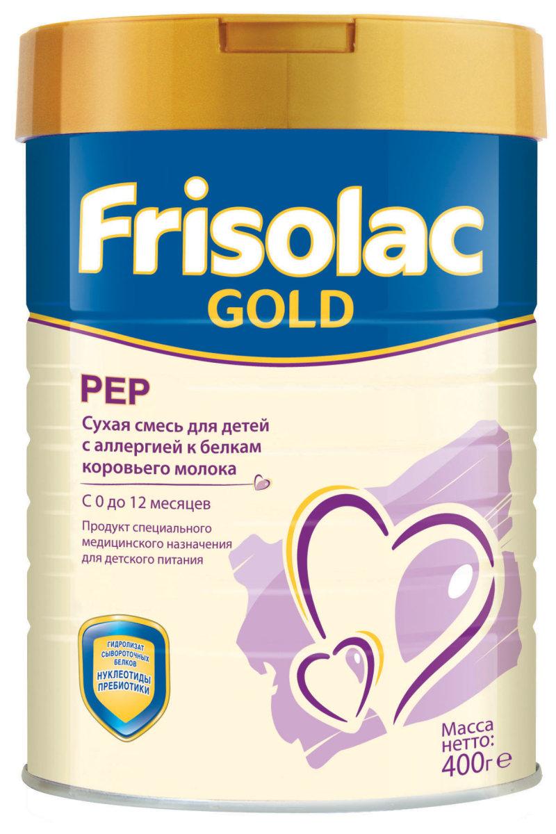 Friso Фрисопеп смесь с нуклеотидами с 0 месяцев, 400 г1093Фрисопеп с нуклеотидами - лечебная смесь для вскармливания детей с проявлениями пищевой аллергии , с рождения до 12 мес. В составе: • глубокий гидролизат сывороточных белков – для диетической коррекции аллергии к белкам коровьего молока, • незаменимые жирные кислоты (омега-3 и омега-6) необходимые для развития мозга и органа зрения, • пребиотики (галактоолигосахариды), способствующие формированию здоровой кишечной микрофлоры, • нуклеотиды поддерживающие развитие иммунной системы, • сниженное содержание лактозы, • все ингредиенты для гармоничного роста и развития ребенка с рождения до 12 месяцев, • хорошие для смесей-гидролизатов вкусовые качества, • сбалансированная полноценная смесь, подходит для длительного вскармливания.