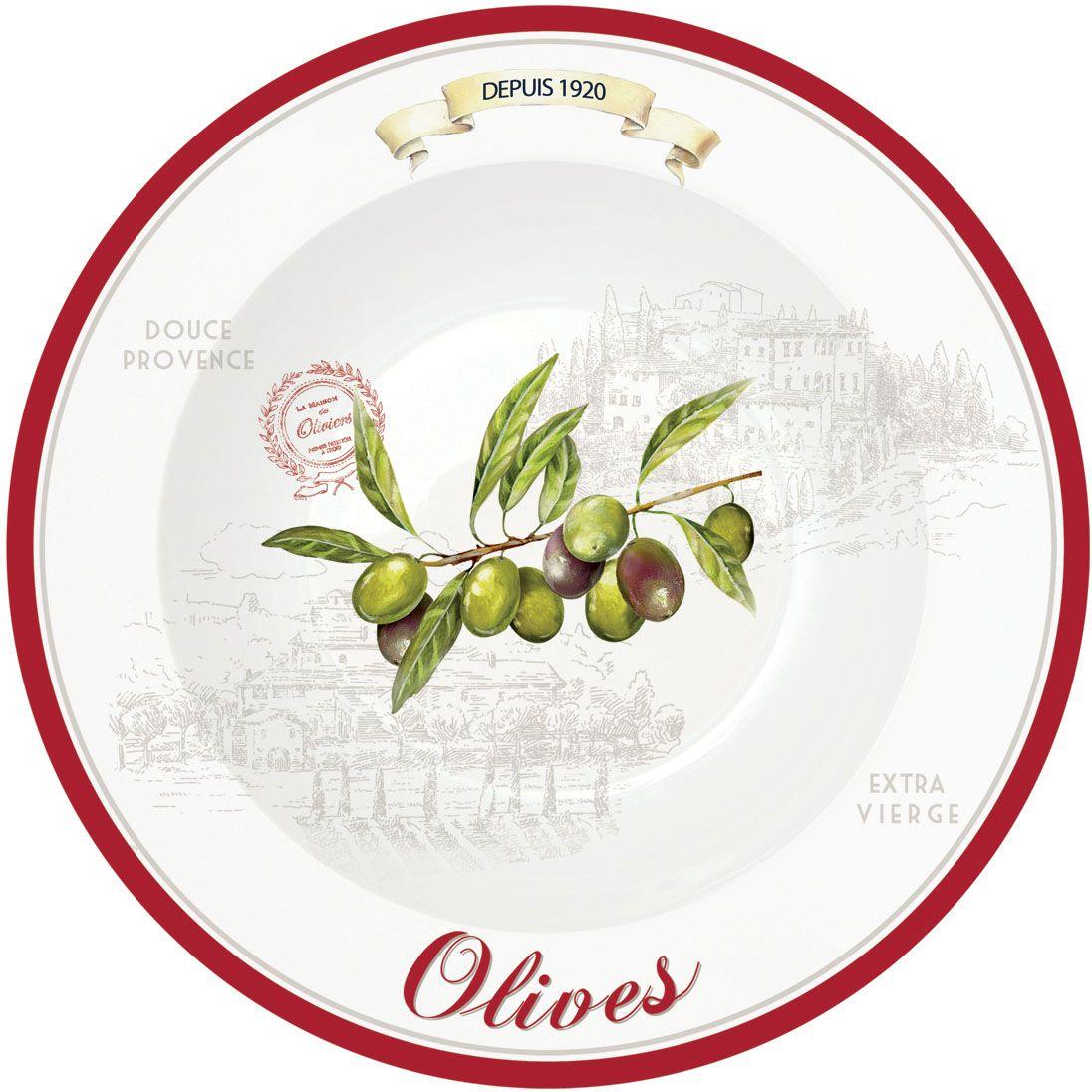 Набор тарелок Nuova R2S Оливки, для пасты, 4 шт., диаметр: 22 см819OLIVНабор тарелок для пасты 4 шт Оливки D22см украсит как празднечный, так и повседневный стол. Прекрасное дополнение к блюду. Товар изготовлен из высококачественного материала.