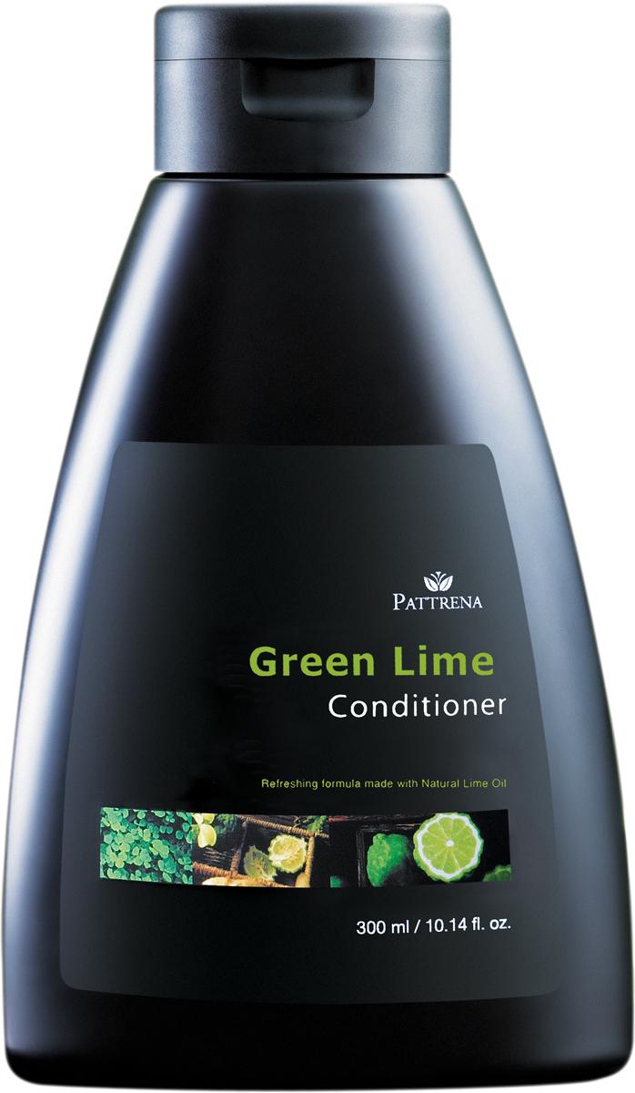 Pattrena кондиционер для волос Зеленый лайм, 300 мл215-030-93868Кондиционер содержит обнавленную формулу вяжущего действия, которая контролирует выделение кожного сжира. Кондиционер содержитэкстракт березы, экстракт хвоща,масло каффир-лайма. Востанавливает структуру волос и придает эластичность. Питает и увлажняет волосы. Подходит для жирных волос.
