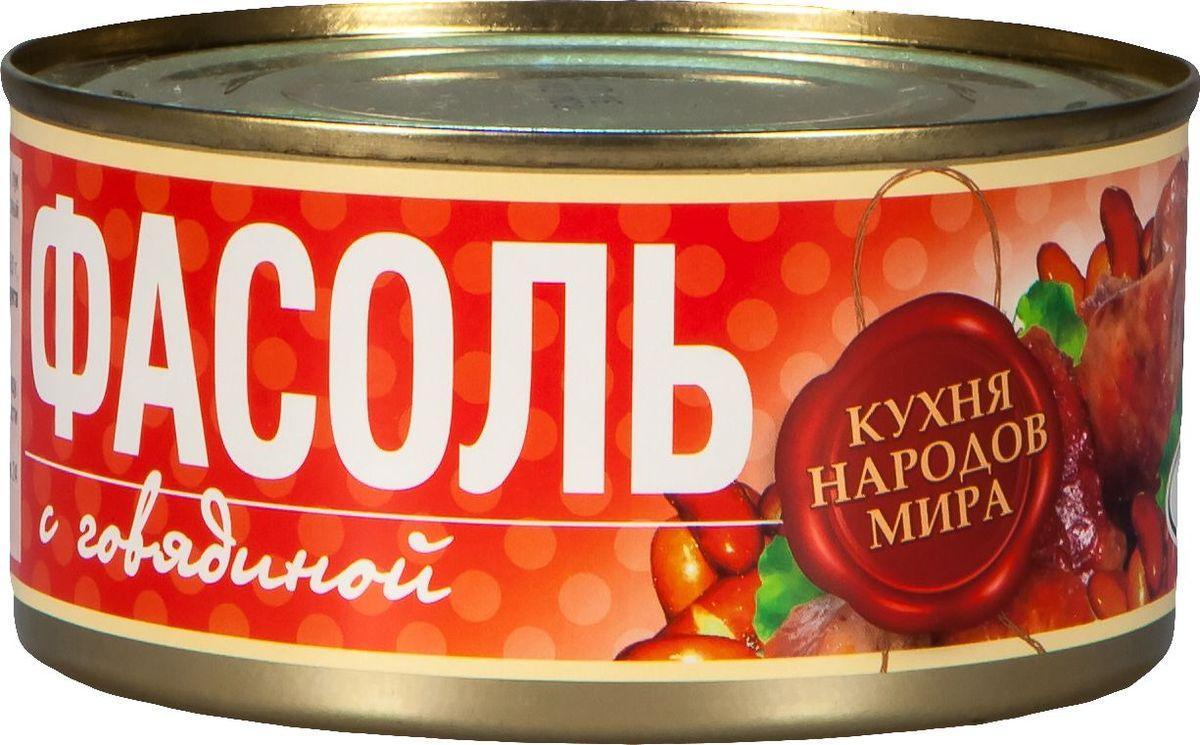Рузком Фасоль с говядиной, 325 г4606411005731