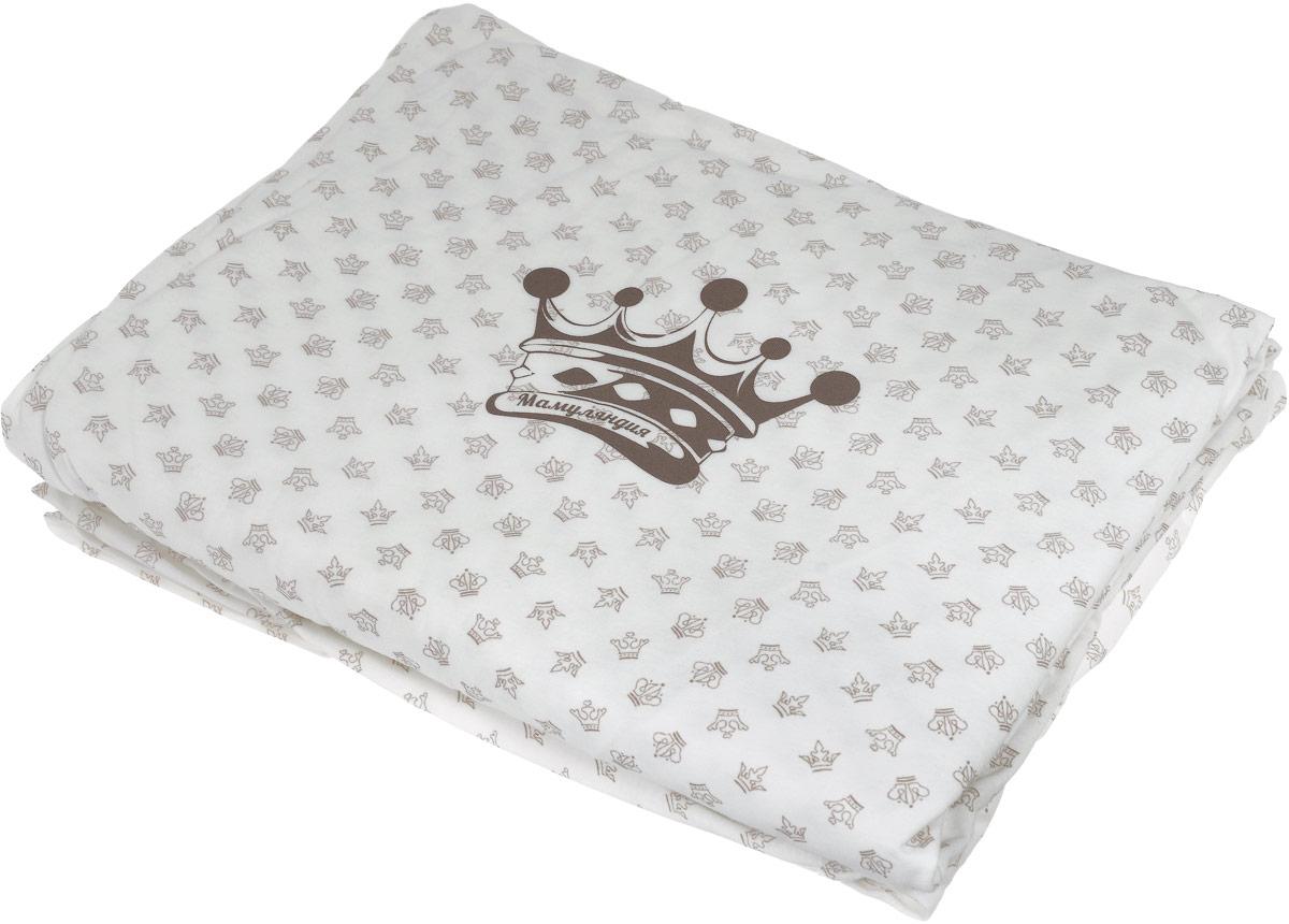 Мамуляндия Комплект деткого постельного белья Маленький принц 17-300117-3001Комплект детского постельного белья Мамуляндия Маленький принц выполнен из натурального 100% хлопка. Комплект постельного белья состоит из простыни - 60 х 120 см, наволочки - 40 х 60 см, пододеяльника - 112 х 147 см. Комплект выполнен из кулирки молочного цвета с набивным рисунком, декорирован гипоаллергенным принтом на водной основе. Хлопок - это натуральный материал, который не раздражает даже самую нежную и чувствительную кожу малыша, не вызывает аллергии и хорошо вентилируется. Такой комплект идеально подойдет для кроватки вашего малыша. На нем ваш кроха будет спать здоровым и крепким сном.