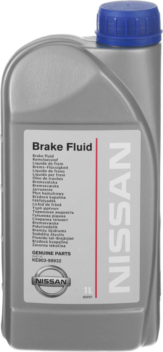 Жидкость тормозная Nissan DOT4, 1 лZ-0307Оригинальная тормозная жидкость Nissan DOT4 идеально подходит для всех тормозных систем автомобилей Nissan. Повышенная до 450°С точка кипения и улучшенные эксплуатационные свойства гарантируют что ваша тормозная система справиться с любыми нагрузками даже в экстремальных режимах. Тормозная жидкость может смешиваться с ее аналогами класса DOT-4 без риска возникновения химической реакции. Малая гигроскопичность гарантирует длительный срок службы тормозной жидкости..Товар сертифицирован.