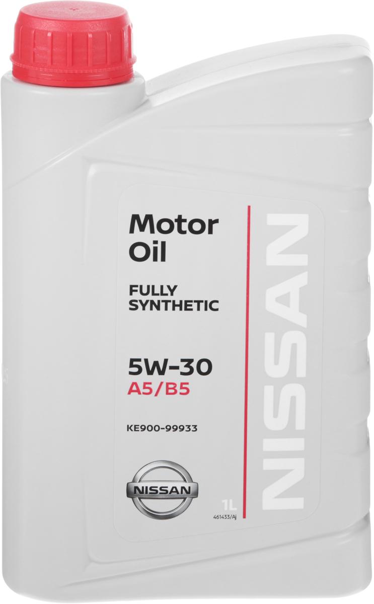 Масло моторное Nissan, синтетическое, класс вязкости 5W-30, 1 л790009Моторное масло Nissan - моторное масло с высокими эксплуатационными характеристиками, разработано для применения в современных двигателях легковых автомобилей и микроавтобусов марки Nissan. Данный продукт обеспечит надежную защиту двигателя при высоких нагрузках. Отличные вязкостные характеристики масла обеспечат облегченный холодный пуск двигателя даже при низких температурах окружающей среды. Применение моторного масла Nissan способствует снижению потребления топлива. Для правильного выбора масла в двигатель автомобиля, руководствуйтесь книгой по эксплуатации автомобилем или обратитесь за помощью к специалистам.Классификация вязкости SAE: 5W-30.Классификация по API: SL / CF. Классификация по ACEA: A5 / B5.Товар сертифицирован.