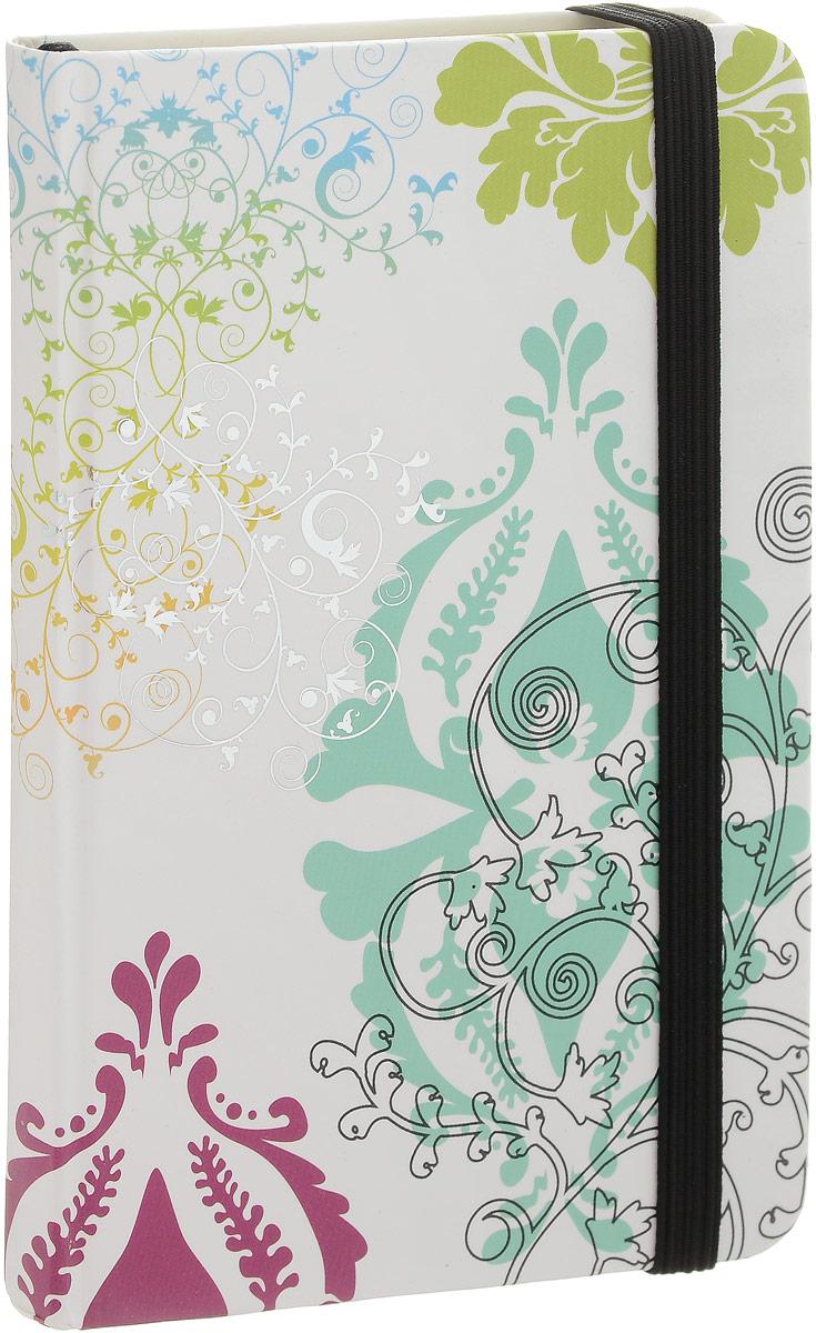 Brauberg Блокнот Inspiration 80 листов в клетку цвет белый бирюзовыйENA6-10983Блокнот Brauberg Inspiration - это неотъемлемый атрибут делового человека, который ценит свое время и умеет правильно организовать свой трудовой день.Приятная на ощупь матовая ламинация защищает обложку от повреждений. Резинка-фиксатор не позволит блокноту открыться в сумочке или портфеле.Внутренний блок - кремовая бумага в клетку. На задней обложке расположен бумажный карман для визиток. Блокнот оснащен закладкой-ляссе.