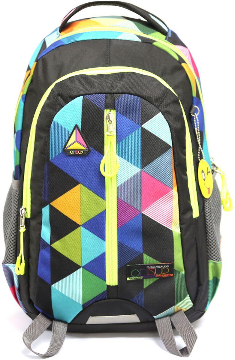 Рюкзак детский UFO people цвет черный 76287628
