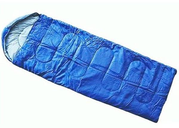 Спальник туристический Комфорт, 220 х75 см, 200гр WILDMAN81-612Теплый и легкий спальник рассчитан на использование при низких температурах. Спальник выполнен из высококачественных материалов, способен надолго сохранять форму, при этом спальник достаточно плотно облегает тело. При такой конструкции любые ваши повороты во время сна не доставят дискомфорта, надежно удерживает тепло внутри спальника.