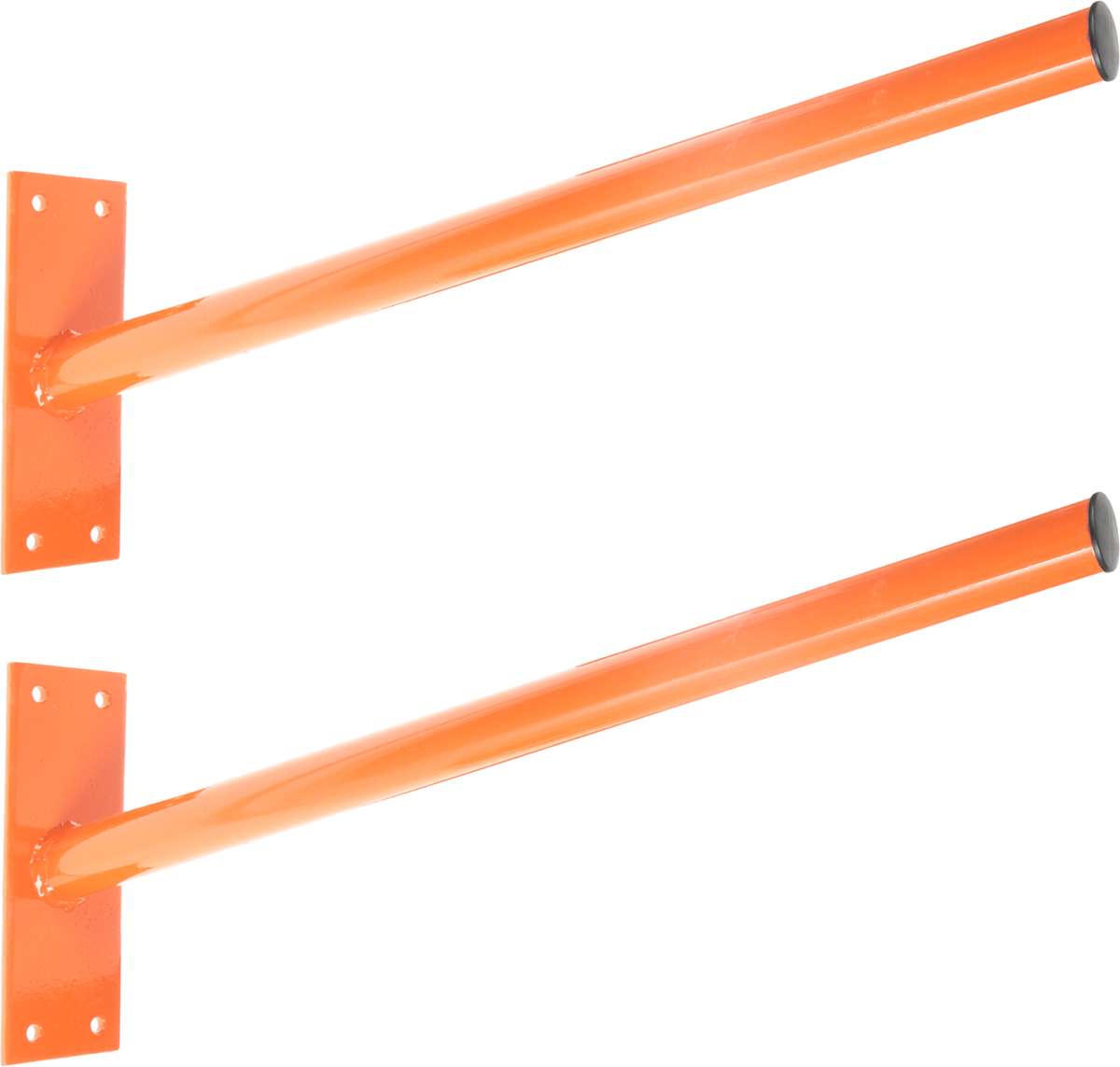 Кронштейны для хранения колес МастерПрофАС.050001Кронштейны подходят к любым колесам, с минимальным диаметром центрального отверстия в диске 38 мм.Имеют наклон, поэтому ваши колеса, под своим весом, упираются в стену.Легко монтируются на стене гаража или магазина.Позволяют освободить пространство на полу помещения.Подходят для хранения длинномеров (труб, досок), велосипедов и прочегоРазмер упаковки 59х25,5х8,5 см.Вес упаковки 2,83 кг.