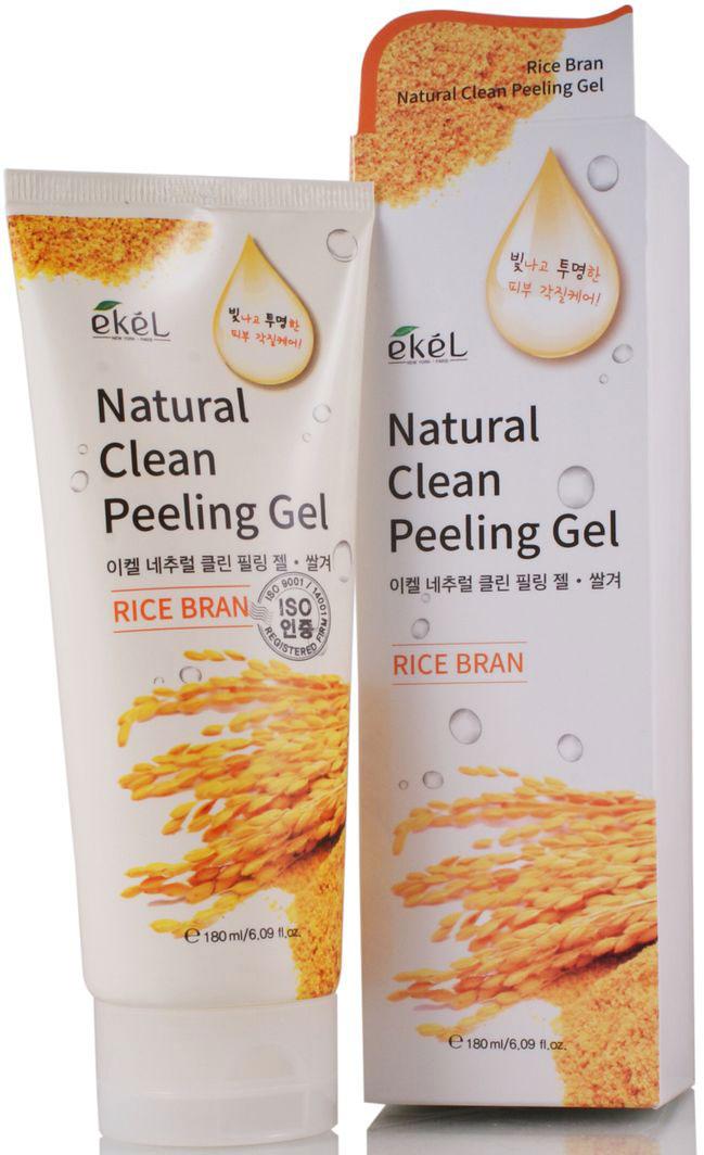 Ekel Пилинг-скатка с экстрактом коричневого риса, 180 мл539713Пилинг-гель для лица с экстрактом коричневого риса содержит экстракты: алое, ромашки, морских водорослей. Эффективно отшелушивает омертвевшие клетки кожи лица и шеи. Глубоко очищает поры. Пилинг стимулирует процесс клеточного обновления и возвращает коже естественное сияние. Благодаря мягкой механической эксфолиации (натуральная целлюлоза 100%), пилинг мгновенно удаляет загрязнения, омертвевшие клетки и окисленные протеины с поверхности кожи. Обладает великолепным очищающим действием, не повреждает поверхность кожи, не разрушая ее естественный защитный слой. Рисовые отруби, состоящие из мелких частичек, мягко отшлифовывают отмершие клетки кожи, делая кожу более ровной. Экстракт рисовых отрубей (гликолиды и фосфолипиды) используется для ухода за кожей как смягчающий и влагоудерживающий компонент. Этот пилинг-гель создан по принципу гоммажа - он совершенно не травмирует кожу, оставляя на ней царапины, как скрабы. Ваша кожа будет очищенной, но здоровой, никаких раздражений, сухости и шелушений, как от скрабов и жестких пилингов. Подходит для любого типа кожи.
