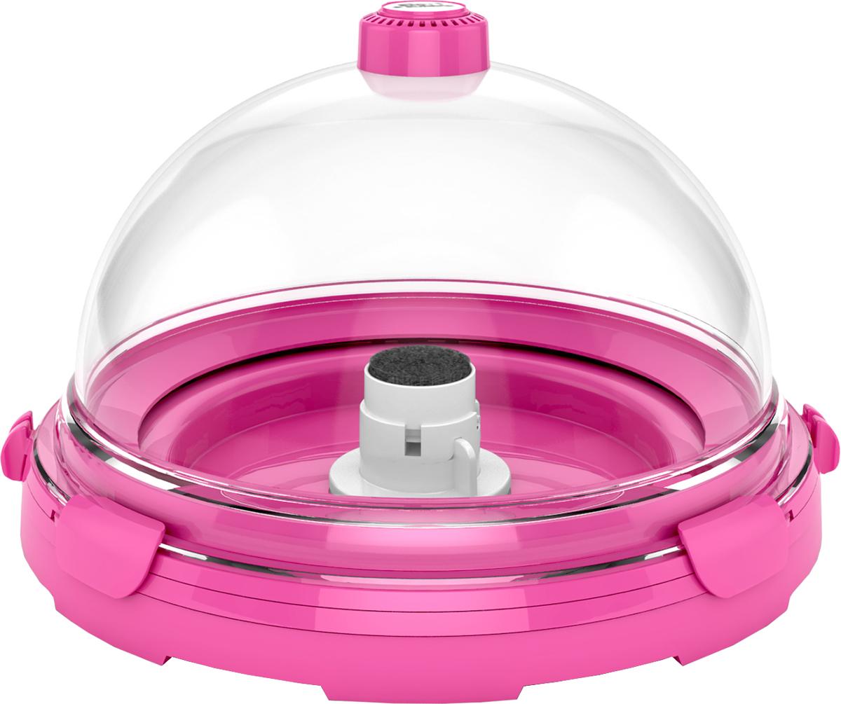 Комплект-аквариум BioBubble  Aquarium Bundle , для пресной и морской среды, цвет: розовый, прозрачный, 11 л