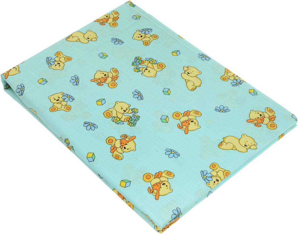 Primavelle Простыня на резинке детская цвет светло-голубой 60 х 120 х 20 смES-412Детская простыня на резинке Primavelle идеально подойдет для кроватки вашего малыша и обеспечит ему здоровый сон. Она изготовлена из натурального 100% хлопка, дарящего малышу непревзойденную мягкость. Простыня с помощью специальной резинки растягивается на матрасе. Она не сомнется и не скомкается, как бы не вертелся ребенок.Подарите вашему малышу комфорт и удобство!