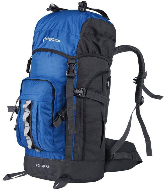 Рюкзак туристический King Camp  Polar 60 , цвет: синий, 60 л - Туристические рюкзаки