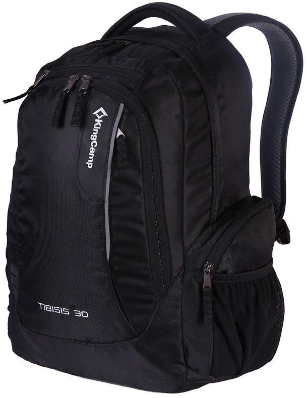 Рюкзак городской King Camp Tibisis 30, цвет: черный, 30 лУТ-000071871TIBISIS 30л рюкзак для города, прогулок, путешествий.Объем: 30 литровРазмеры: 48 х 30 х 17 смВес: 900 граммМатериал: полиэстер 210D Double RipStop с PU покрытием, полиэстерОсобенности: одно отделение, водонепроницаемая ткань, система вентиляции спины A.K.S., карман для ноутбука, боковые карманы, органайзер, накидка от дождя.