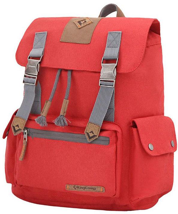Рюкзак городской King Camp Yellowstone 15, цвет: красный, 15 лУТ-000071902YELLOWSTONE 15л рюкзак для города, прогулок, учебы.Размеры: 35 х 28 х 11 смВес: 500 граммМатериал: полиэстер с PU покрытием, полиэстерОсобенности: одно отделение, водонепроницаемая ткань, карман для ноутбука, боковые карманы, органайзер.