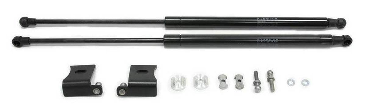 Упоры капота Rival для Mazda CX-5 2011-, 2 шт.MW-3101Газовые упоры Rival позволяют легко открыть капот одним движением руки и автоматически зафиксировать его в верхнем положении. - Чистая одежда и руки при открытии/закрытии капота. - Сохранение штатного угла открытия капота. - Использование динамических газовых упоров STABILUS (производство Германия), что обеспечивает стабильную работу. Гарантия стабильной работы 5 лет. - Комплект амортизаторов капота защищены от коррозии. - Надежно работают при температурах от -30 до +80 градусов. - Быстрая и легкая установка в штатные места автомобиля (без сверления и доработок), благодаря индивидуальной разработке креплений для каждого автомобиля. В комплекте набор крепежа и инструкция по установке.