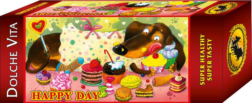 Dolche Vita печенье нежный шоколад, 200 г225391Пищевая ценность 100 г продукта: белки – 7,8 г, жиры – 15,2 г, углеводы – 68,1 г. Энергетическая ценность – 434 кКал/1817 кДж.