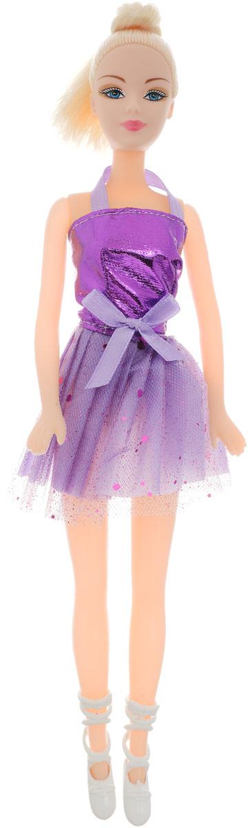 Город игр Кукла Abbie Балерина цвет платья фиолетовый