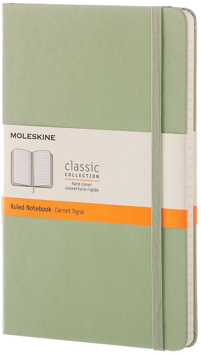 Moleskine Блокнот Classic Large 120 листов в линейку цвет зеленый -  Ежедневники, блокноты, записные книжки