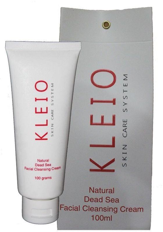 Kleio Натуральный крем для умывания Skin Care System Natural Dead Sea Facial Cleansing Cream, 100 млK01300100Этот уникальный продукт – крем для умывания- применяется для всех типов кожи лица, в том числе и проблемной; глубоко и в тоже время мягко очищает кожу; превосходно смягчает, увлажняет, питает и восстанавливает; придает коже лица свежий и естественный здоровый вид, мягко удаляет загрязнения и макияж; оказывает легкое терапевтическое воздействие; содержит натуральные природные соли, минералы и грязь Мертвого моря.