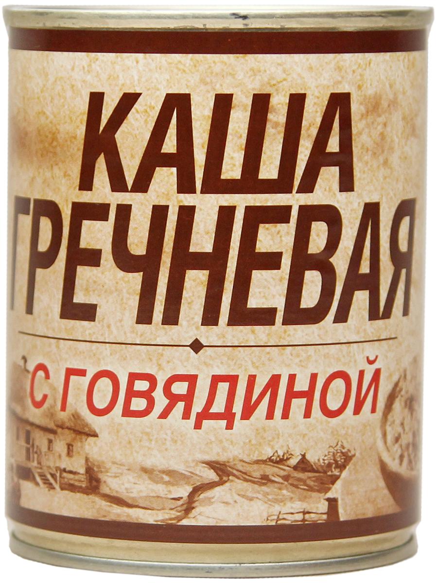 Вотчина Каша гречневая с говядиной, 338 г4606411007674