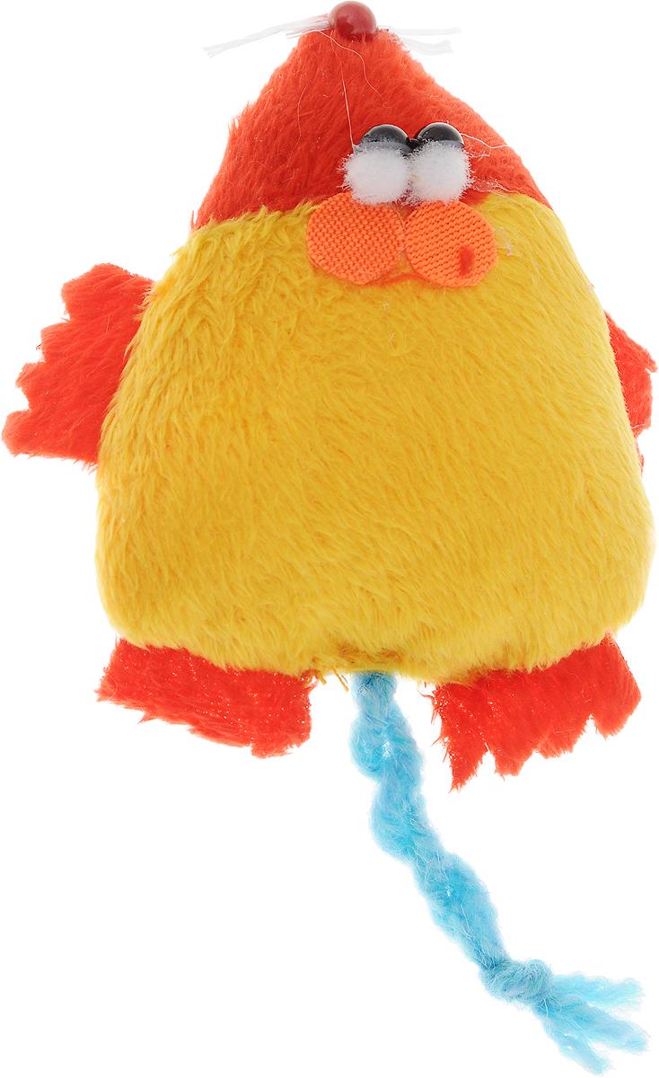 Игрушка для кошек GLG Мышка-норушка, цвет: красный, желтый0120710Игрушка для кошек GLG Мышка-норушка, выполненная из текстиля с мягким наполнителем внутри, не позволит заскучать вашему пушистому питомцу. Играя с этой забавной игрушкой, маленькие котята развиваются физически, а взрослые кошки и коты поддерживают свой мышечный тонус. Игрушка оснащена черными глазками-бусинками и длинным хвостом.Такая игрушка порадует вашего любимца, а вам доставит массу приятных эмоций, ведь наблюдать за игрой всегда интересно и приятно. Размер игрушки (с учетом хвоста): 7 х 14 х 2,5 см.