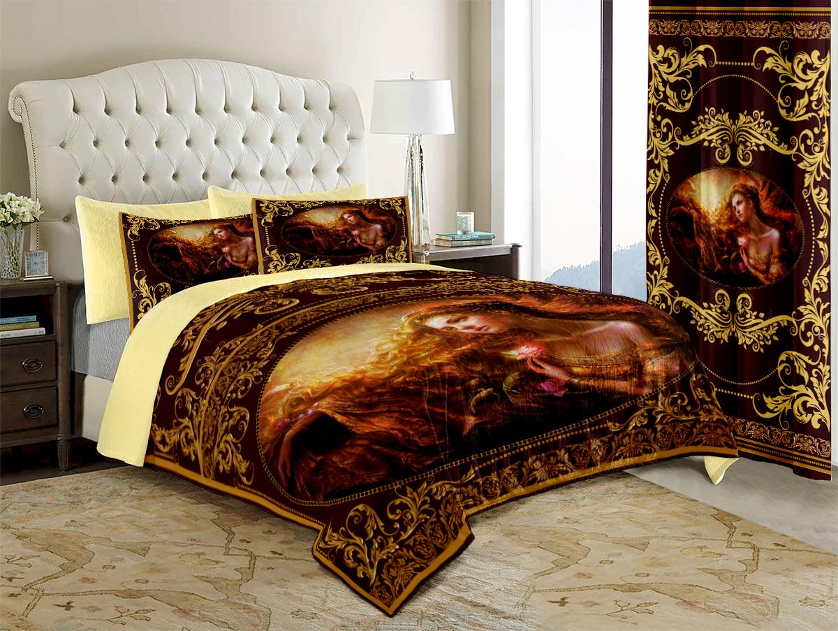 Покрывало МарТекс Византия, 200 х 220 см960071Покрывало МарТекс станет изысканным дополнением интерьера спальни. Яркое покрывало изготовлено из качественного полиэстера с набивкой из полиэфирного волокна.Покрывало не только согреет, но и создаст неповторимый уют в вашей спальне. Мягкий, теплый, приятный на ощупь материал делает покрывало хорошей заменой пледу.