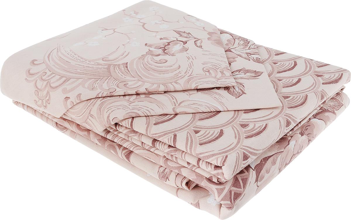 Комплект белья Гаврилов-Ямский Лен, 2-спальный, наволочки 70x70, цвет: бежевый, коричневый. 5со62674630003364517Комплект постельного белья Гаврилов-Ямский Лен состоит из простыни, пододеяльника и двух наволочек. Изделия выполнены изо льна с добавлением хлопка (52% лен, 48% хлопок) и дополнены оригинальным рисунком. Лен - поистине уникальный природный материал, экологичнее которого сложно придумать. Изделия изо льна отличаются долгим сроком службы, не линяют, выдерживают множество стирок и сохраняют безупречный внешний вид долгое время. Льняное постельное белье обладает уникальными потребительскими свойствами - оно даст вам ощущение прохлады в жаркую ночь и согреет в холода. История льна восходит к Древнему Египту: в те времена одежда изо льна считалась достойной фараонов. На Руси лен возделывали с незапамятных времен - изделия из льняной ткани считались показателем достатка, а льняная одежда служила символом невинности и нравственной чистоты.