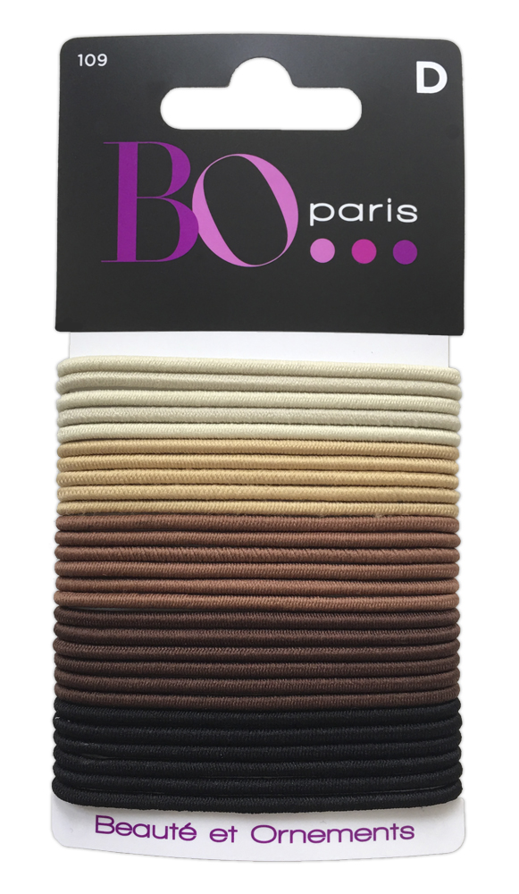 BO Paris Резинки для волос цвет мультиколор 48015001094801500109Резинки для поддержания волос и сохранения прически
