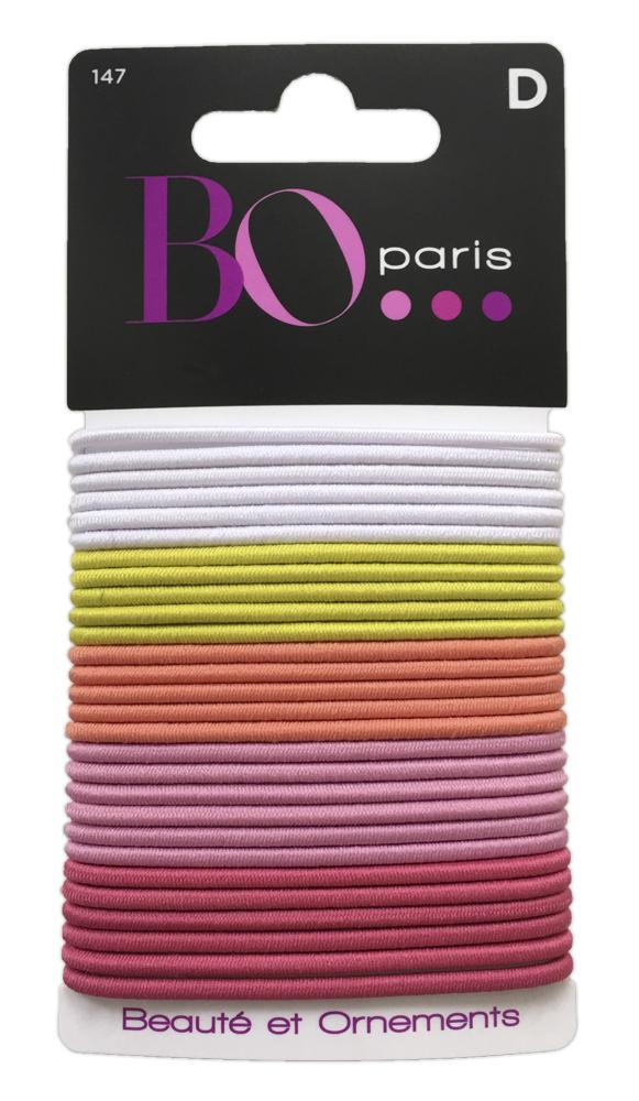BO Paris Резинки для волос цвет мультиколор 48025001474802500147Резинки для поддержания волос и сохранения прически
