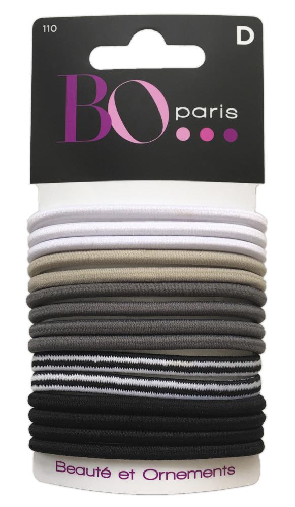 BO Paris Резинки для волос цвет мультиколор 48095001104809500110Резинки для поддержания волос и сохранения прически