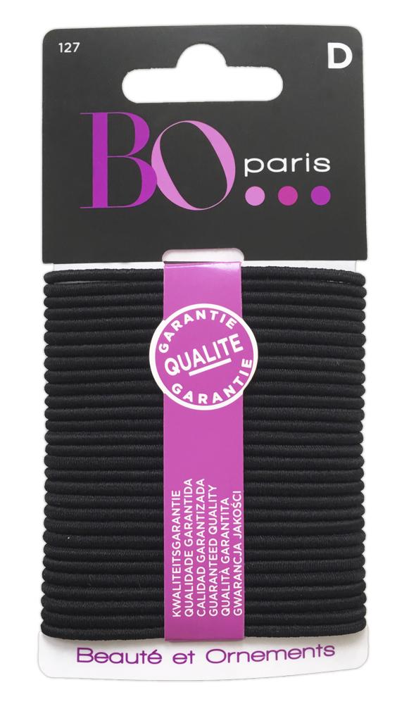 BO Paris Резинки для волос цвет черный 48095001274809500127Резинки для поддержания волос и сохранения прически
