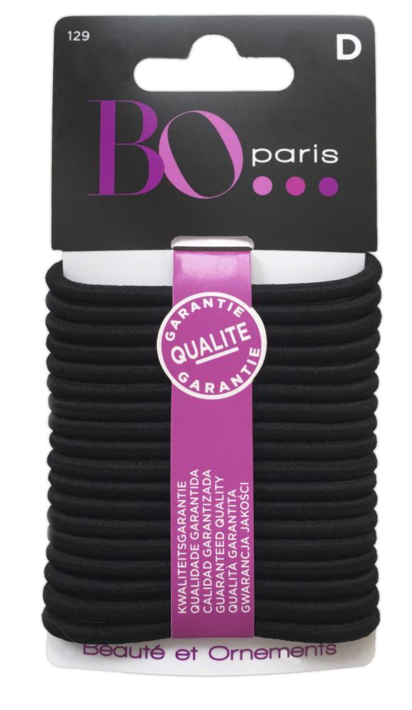 BO Paris Резинки для волос цвет черный 48095001294809500129Резинки для поддержания волос и сохранения прически