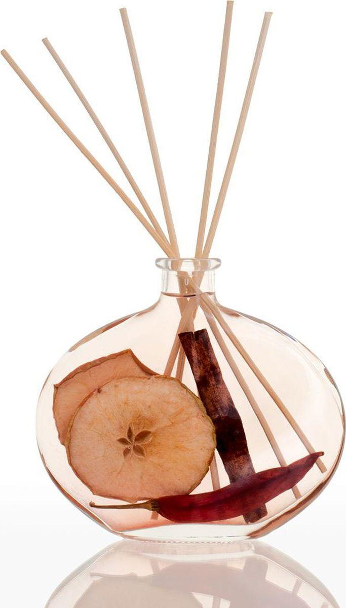Диффузор ароматический Stoneglow Пряное яблоко, 200 мл2000000032252Тростниковый диффузор Пряное яблоко это яркий, вкусный и фруктовый аромат свежего яблока, приправленный нотками корицы и гвоздики. Диффузор упакован в подарочную коробку и станет прекрасным подарком.
