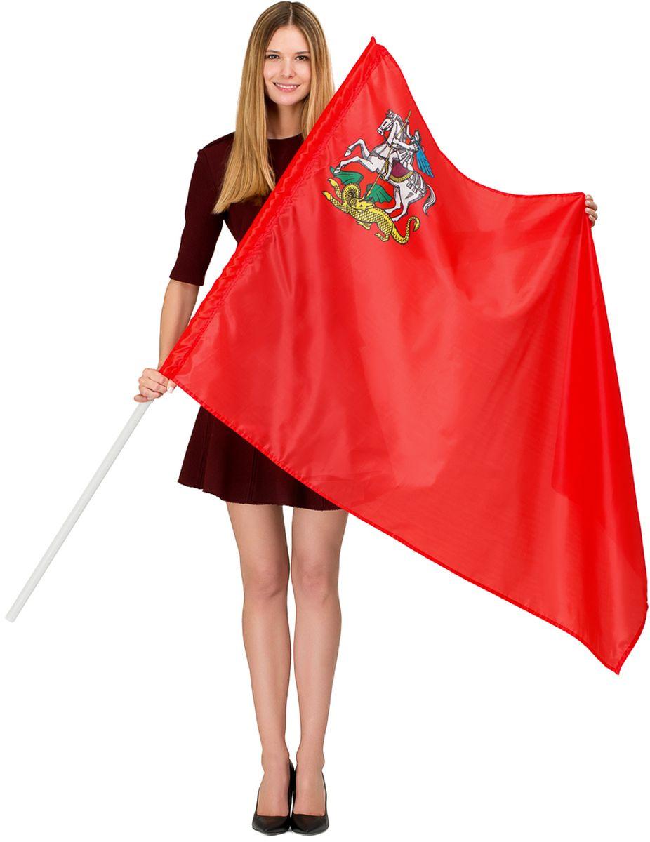 Флаг Ratel Московская область, односторонний, 90 х 135 смG072Флаг Московская область предназначен как для использования на улице, так и в помещениях. Используется как с держателем - древком, так и без него. Он изготовлен из полиэфирного шелка. На полотне выполнена яркая печать с одной стороны.Размер полотна: 90 х 135 см.