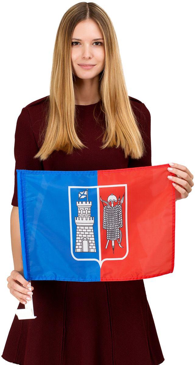 Флаг автомобильный Ratel Ростов-на-Дону, односторонний, 30 х 40 см обои ростов на дону