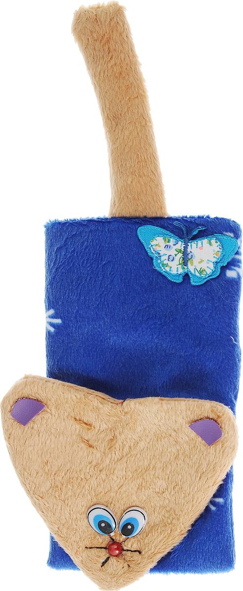 Игрушка для кошек GLG Мышка, шуршащая, цвет: синий, коричневыйGLG036_синий, коричневыйИгрушка для кошек GLG Мышка выполнена из мягкого текстиля. Играя с этой забавной игрушкой, маленькие котята развиваются физически, а взрослые кошки и коты поддерживают свой мышечный тонус. Изделие выполнено в виде мыши. Шуршалка внутри привлечет внимание кошки и вовлечет в процесс игры.