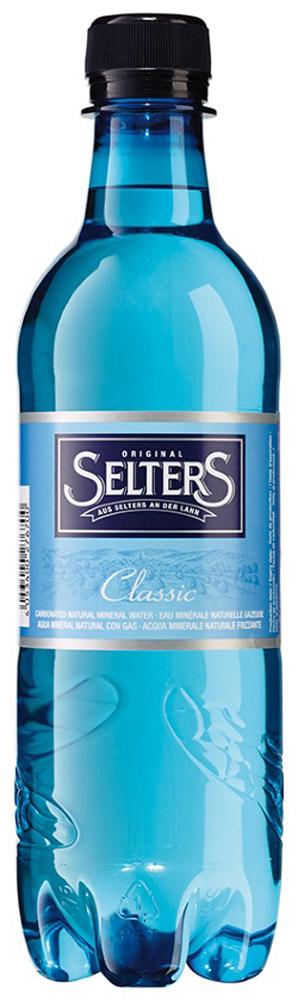 Selters вода минеральная газированная, 0,5 лWSLTCL-050P24Вода минеральная питьевая лечебно-столовая газированная Selters