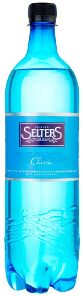 Selters вода минеральная газированная, 1 лWSLTCL-100P06Вода минеральная питьевая лечебно-столовая газированная Selters
