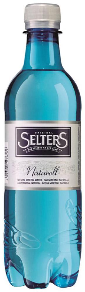 Selters вода минеральная негазированная, 0,5 лWSLTNT-050P24Вода минеральная питьевая лечебно-столовая негазированная Selters