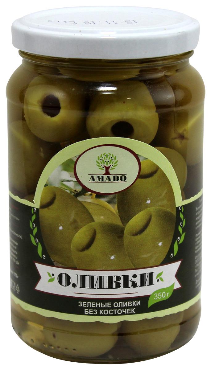 Amado зеленые оливки без косточки, крупные, 350 г7Экологически чистый продукт. Чистейшая горная вода позволяет почувствовать истинный вкус оливок. Отсутствуют усилители вкуса и консерванты. Плоды крупного размера, с маленькой косточкой