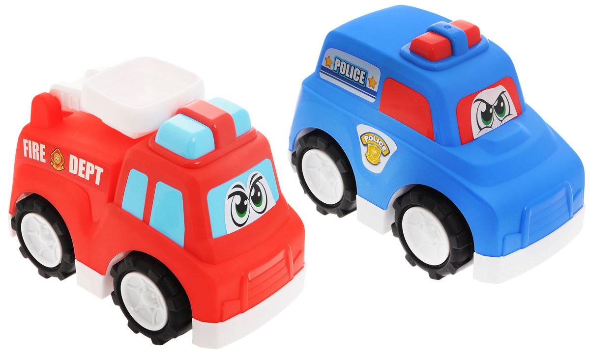 Keenway Набор машинок Полиция и пожарные, Dongguan Keenway Metal & Plastic Toys Co. Ltd