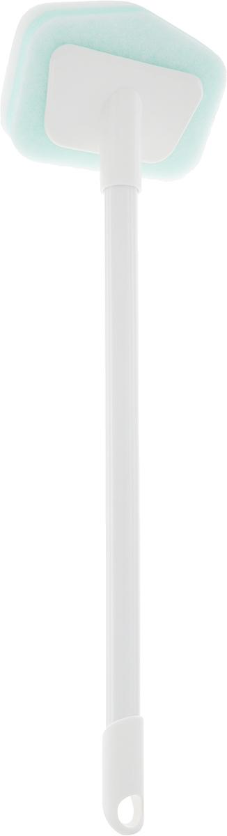 Губка для ванной Ohe Melamine Bath Sponge, меламиновая, с ручкой, длина 45 см908101Меламиновая губка Ohe Melamine Bath Sponge оснащена ручкой и используется для очистки ванн от различных загрязнений. В составе губки - меламин-пенопласт с микроструктурой, которая тоньше человеческого волоса в 10 тысяч раз, поэтому для очистки следов от рук и разводов достаточно только легко потереть поверхность, словно работаете ластиком. При использовании губки необходима только вода. Состав: ручка - пластик, губка - меламиновая пена, полиуретан. Общая длина изделия: 45 см.Размер рабочей части: 12 х 9 х 3 см.