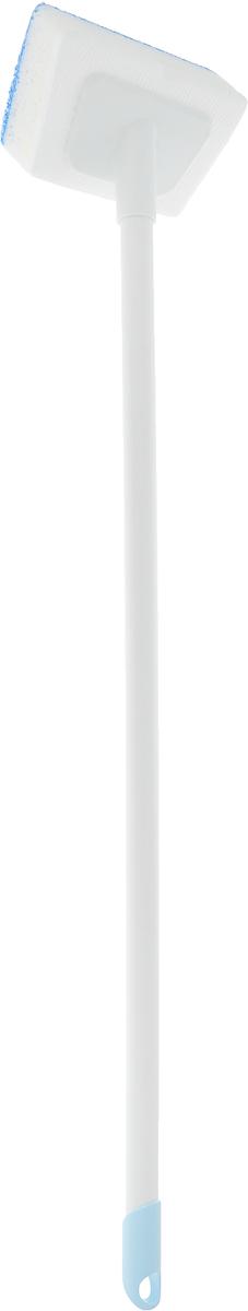 Губка для для ванной Ohe Bath Fresh, двухслойная, с ручкой, длина 72 см671067Губка Ohe Bath Fresh применяется для очистки полимерных, эмалированных и стальных ванн. Особенности изделия:- губка являет собой устройство с ручкой для легкой и удобной очистки ванн,- состоит из 3-х слоев для лучшего пенообразования и удобства в использовании,- форма губки позволяет легко очищать углы,- пластиковые части губки обработаны водоотталкивающим материалом, после использования на ней не остаются вода и жир.Состав: полиэтилен, полиуретановый пенопласт, нетканый нейлон. Выдерживает температуру до 60°С.Общая длина изделия: 72 см.Размер рабочей части: 13,5 х 8 х 4,5 см.