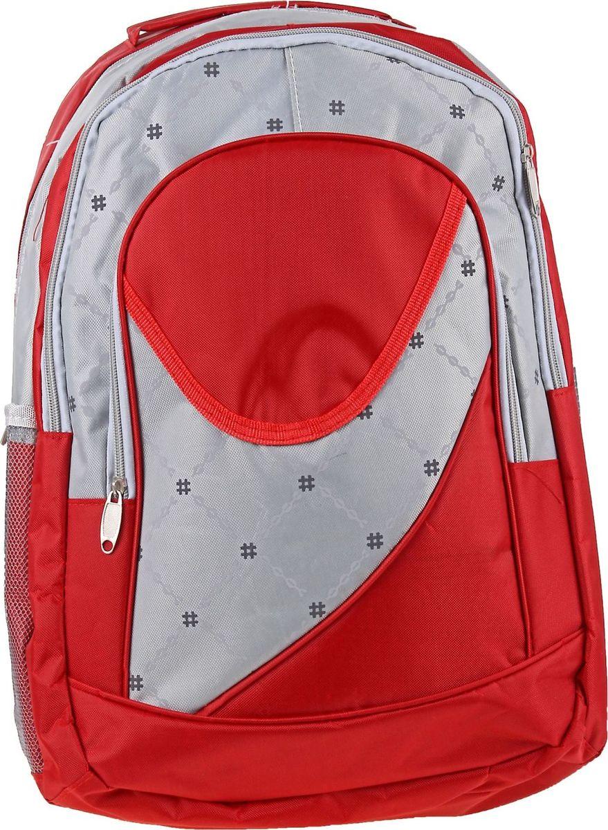 Страна Карнавалия Рюкзак Лондон цвет красный72523WDМаленькие, казалось бы, незначительные элементы зачастую завершают, дополняют образ, подчёркивают статус, стиль и вкус своего обладателя. Рюкзак школьный Лондон, 1 отдел, 2 наружных и 2 боковых кармана, красный/серый — одна из подобных деталей. Это вещь достойного качества, которая может стать прекрасным подарком по любому поводу.