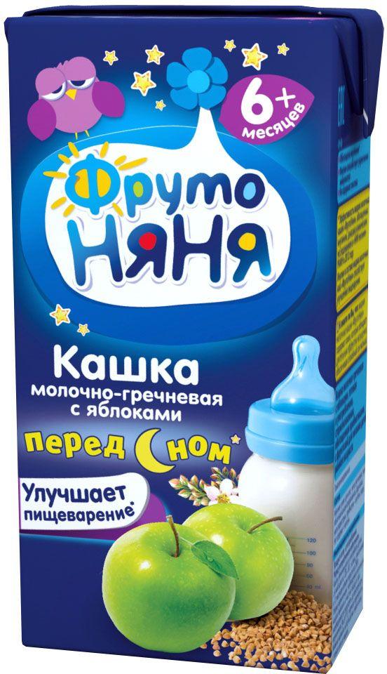 ФрутоНяня каша гречневая с яблоком молочная с 6 месяцев, 0,2 лP062003улучшает пищеварение (клинически доказано)обогащена инулиноминулин улучшает пищеварениебез консервантов, красителей, ГМО