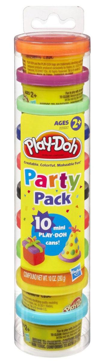 Play-Doh Набор для лепки Для вечеринок72523WDЕсли ребенок тянется к творчеству и предпочитает проводить досуг за тихими спокойными созидательными занятиями, то набор разноцветного пластилина - это именно то, что нужно для развития его креативности и нестандартного мышления.Разнообразие и яркость цветов данного набора помогут ребенку проявлять свои творческие способности, не ограничивая его фантазию и воображение.Пластилин из этого набора абсолютно безопасен, приятен на ощупь, легко лепится и не пристает к рукам.