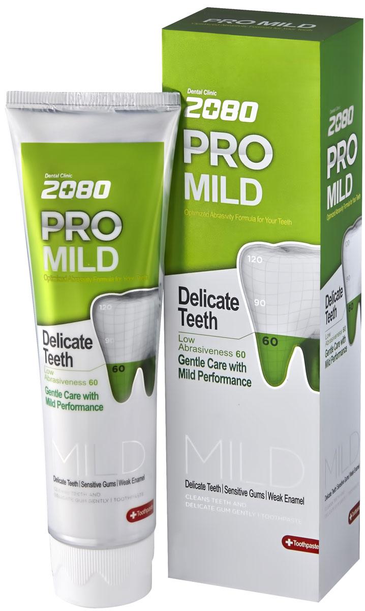 DC 2080 Зубная паста Мягкая защита, для чувствительных зубов и десен, 125 г898260Профессиональная зубная паста с низкой степенью абразивности RDA-60 для нежного и бережного ухода за чувствительными зубами и деснами.Изготовлена на основе современного высококачественного абразива диоксида кремния (силики), который не повреждает и не стирает эмаль зубов при чистке. Густая, обильная пена проникает в самые отдаленные уголки полости рта и эффективно удаляет остатки пищи и зубного налета. Подходит для ежедневного применения. Характеристики:Вес: 125 г. Артикул: 898260. Производитель: Корея. Товар сертифицирован. УВАЖАЕМЫЕ КЛИЕНТЫ!Обращаем ваше внимание на возможные изменения в дизайне упаковки. Поставка осуществляется в одном из двух приведенных вариантов упаковок в зависимости от наличия на складе. Комплектация осталась без изменений.