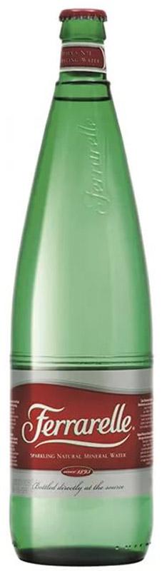 Ferrarelle вода минеральная, 0,5 л стекло4600536003108Вода минеральная питьевая лечебно-столовая газированная «Ferrarelle». «Ferrarelle» уникальная минеральная вода с естественной природной газацией и непревзойденным вкусом. №1 газированная вода в Италии.